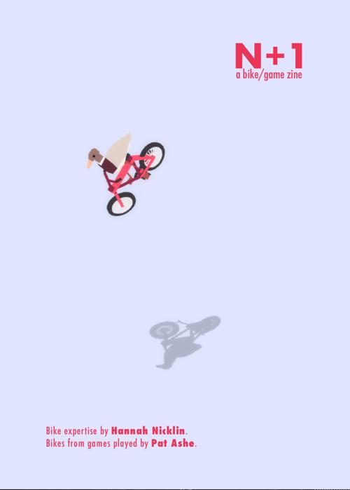 Image of DIGITAL COPY - N+1 Bikes in Games Zine