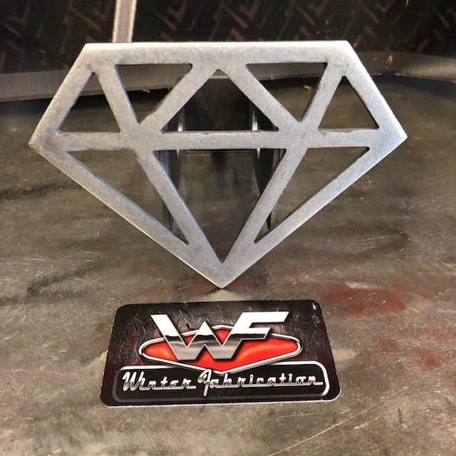Image of Diamond Shape Hitch Cover