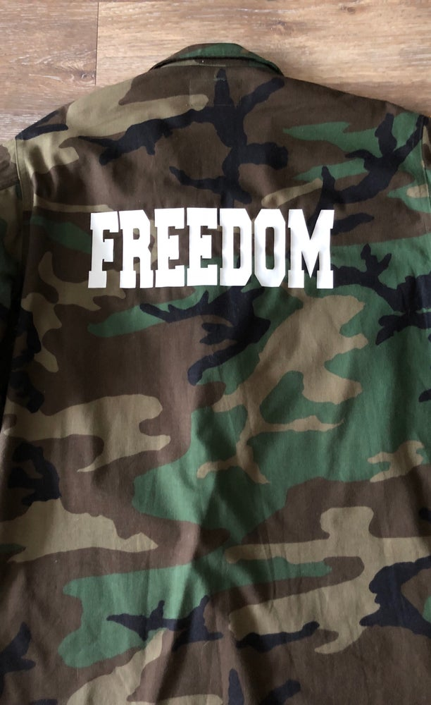 Image of FREEDOM Camo Jacket