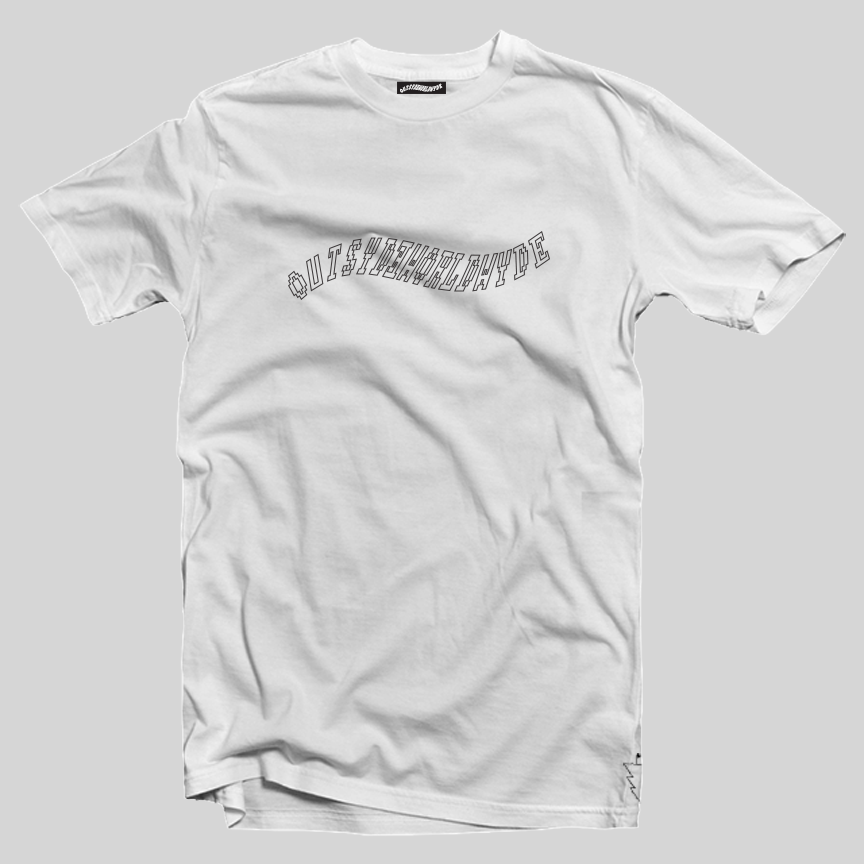 Image of OUTSYDEWORLDWYDE Logo Tee