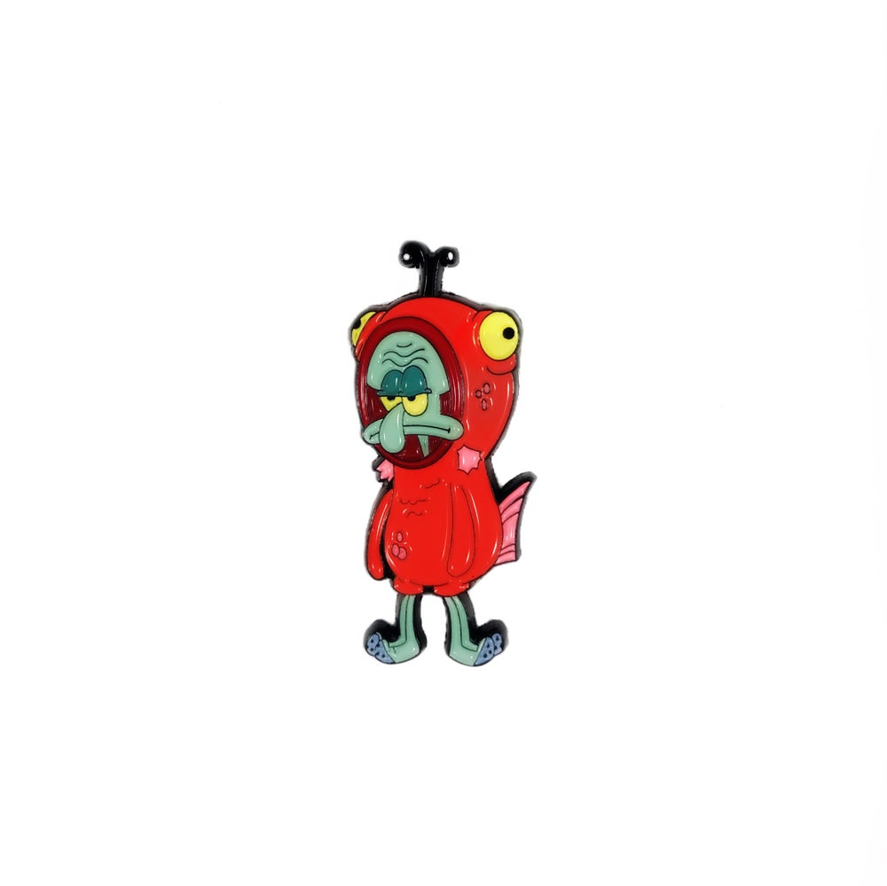 Image of Salmon Suit Squidward