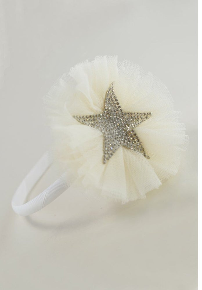 Image of Creme Sparkle headband