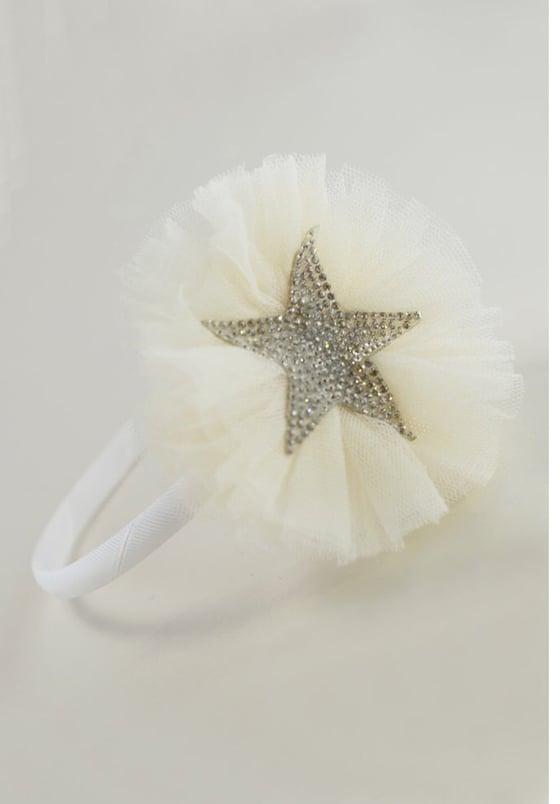 Image of Creme Sparkle headband