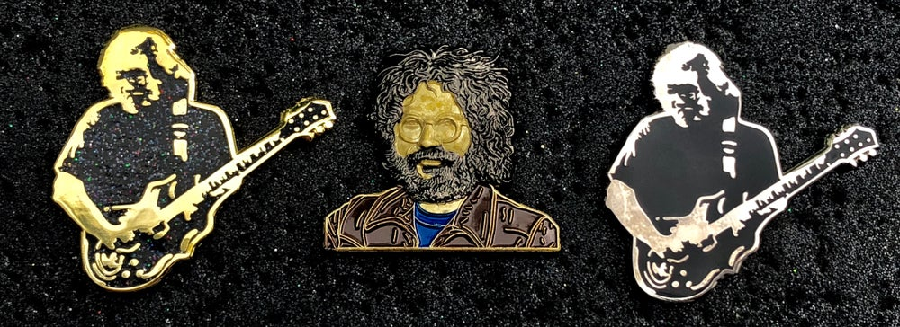 Image of Jerry Garcia pins