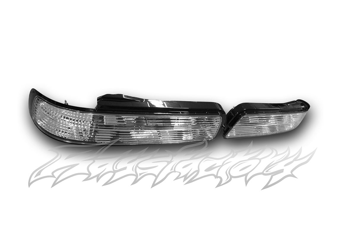 Image of Nissan S13 Silvia (1989-1994 Nissan 240sx Coupe) All Clear Tail Lights