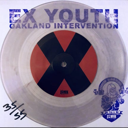 "Image of Ex Youth 'Oakland Intervention' 7"" Clear with Purple Smoke (55)"