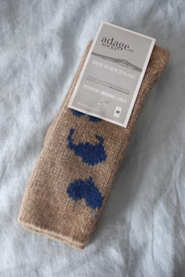 Image of Possum Socks - A Kiwi Stole my Heart - 1 pair