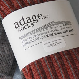 Image of Soft Merino Rib Socks - 2 pair