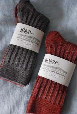Image of Soft Merino Rib Socks - 2 pair