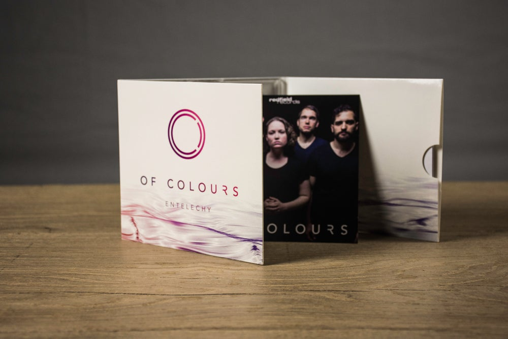 "Image of OF COLOURS - ""ENTELECHY"" Album CD"