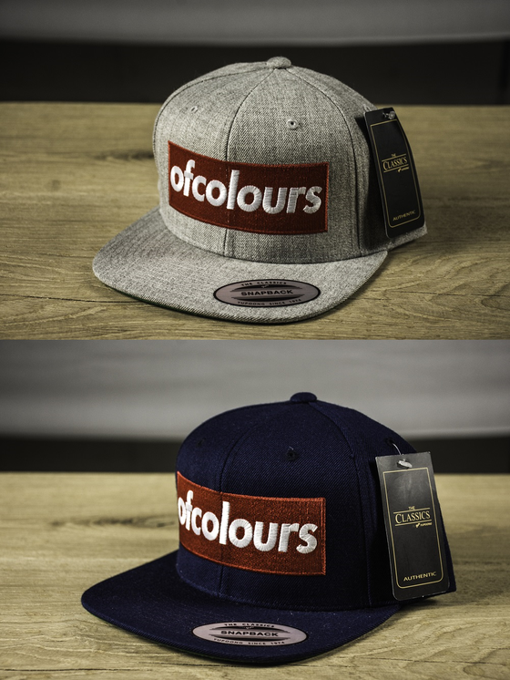 Image of OF COLOURS - Boxlogo Snapback