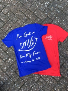 Image of NEW: Smile pocket and back print t-shirt