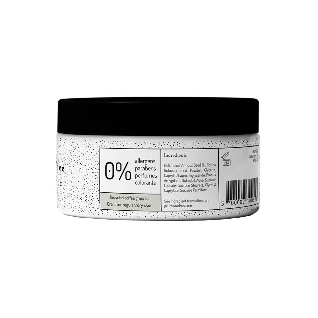 Image of Grums Raw coffee body scrub 200 ml