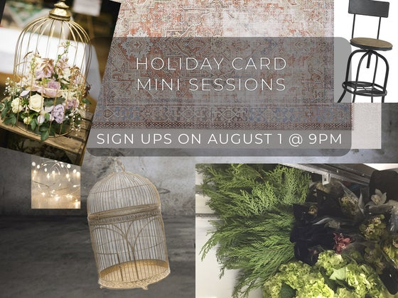 Image of Holiday Card Mini Session - Sunday, October 28th