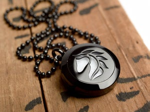 Image of Horse Essential Oil Diffuser Necklace
