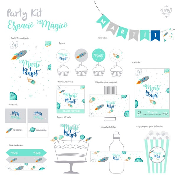 Image of Party Kit Espacio Mágico