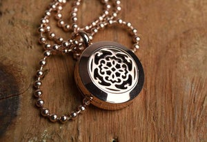 Image of NEW Florals Essential Oil Diffuser Necklace