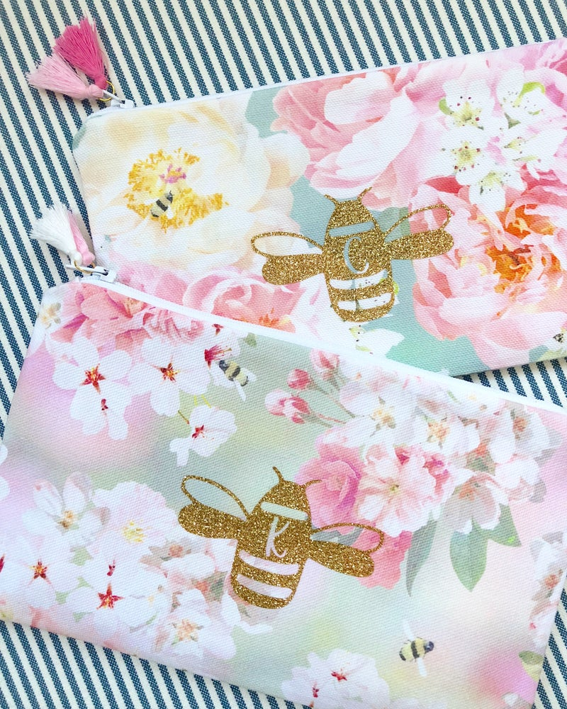 Image of Glitter Bee Pouch