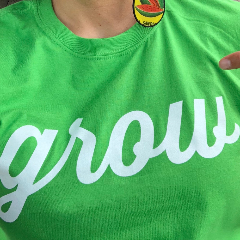 "Image of ""grow"" t-shirt"