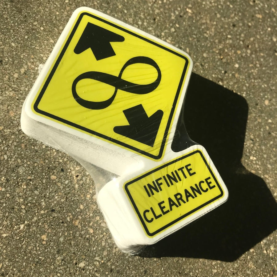 Image of Set of 50 Infinite Clearance Stickers