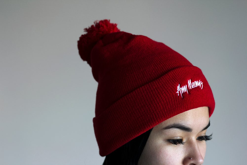 Image of Signature Pom Beanie