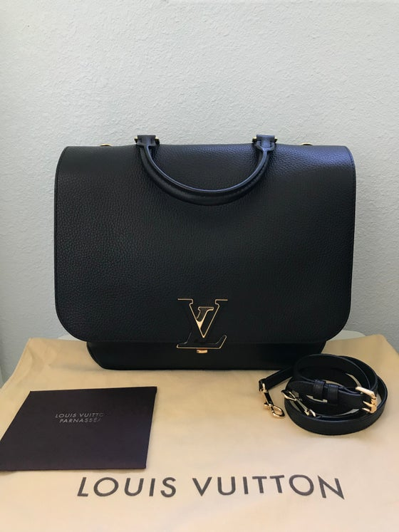 Image of Louis Vuitton Taurillion Volta Bag Noir