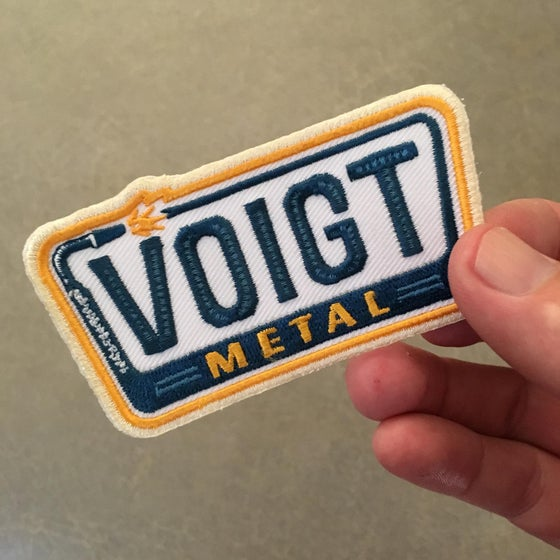 Image of Voigt Metal Iron-On Welding Patch