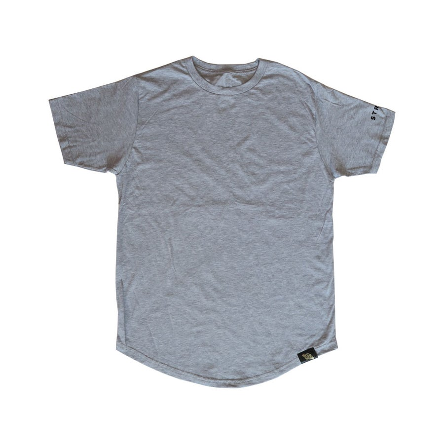 Image of Grey STRYVE Long Tee