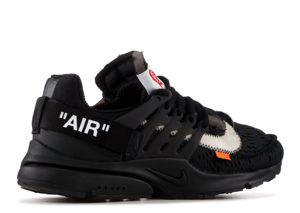"NIKE AIR PRESTO ""OFF WHITE"" BLACK"