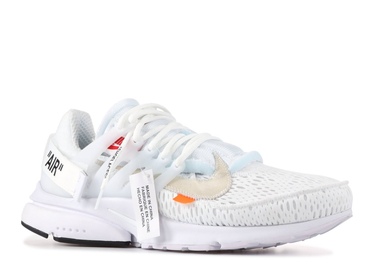 "Image of NIKE AIR PRESTO ""OFF-WHITE"" WHT"