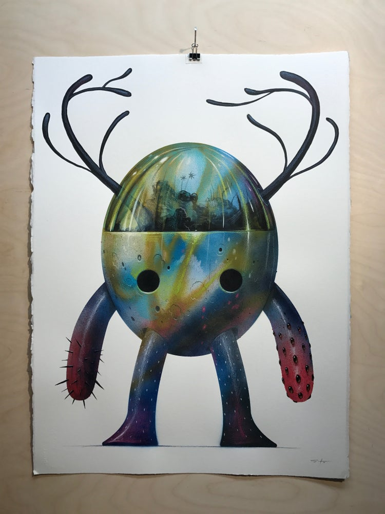 Image of Pollux Original Painting