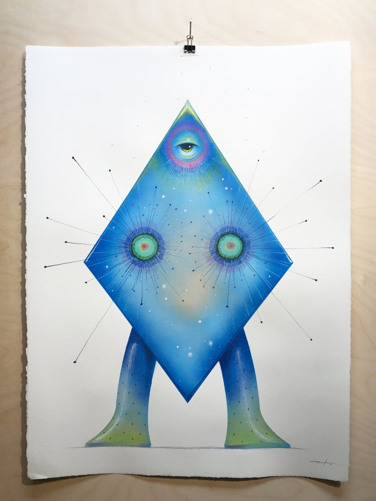 Image of Mizar Original Painting