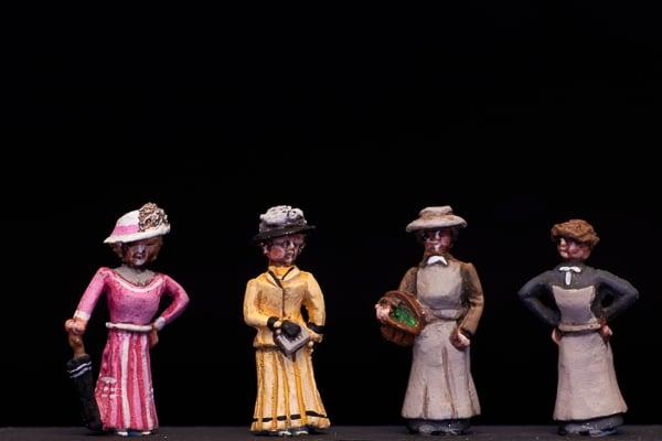 Image of ED1 Edwardian ladies