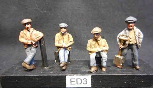 Image of ED3 Railway workmen