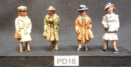 Image of PD16 Passengers. Ladies.