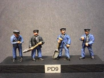 Image of PD9 Steam locomotive crews 1