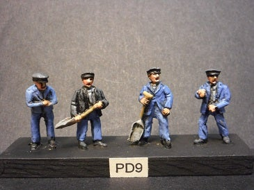 Image of PD9 Steam locomotive crews 1