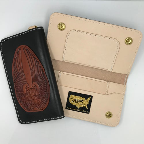 Image of WINGED LOGO WALLET