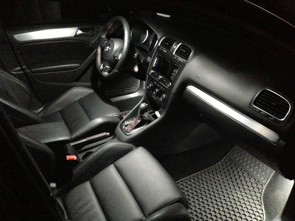 Image of Front & Rear Footwell LED Conversion Kit Fits: All Volkswagen/Audi with 194 Front Footwell Housings
