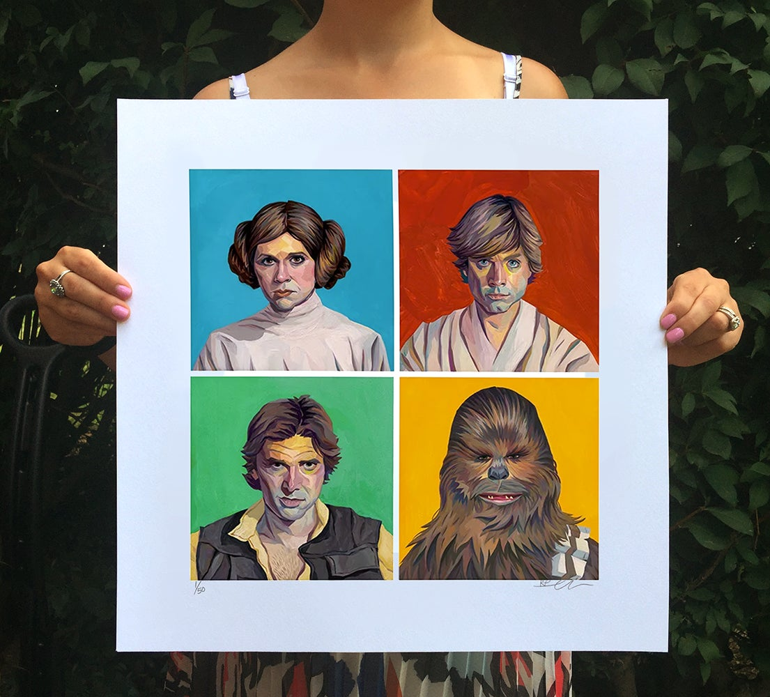 Image of A New Hope Group Print