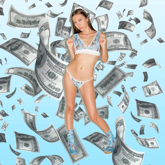 Image of Fallen Money Lace lingerie