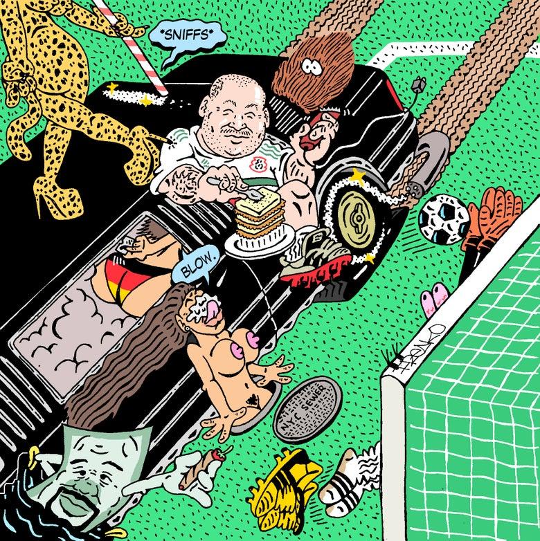 "Image of ""ACTION BRONSON: HEEL TOE"" PRINT"
