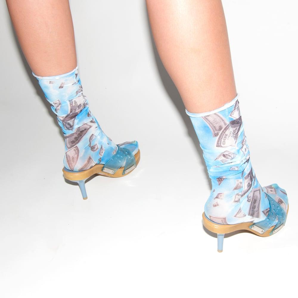 Image of Fallen Money Designer Socks