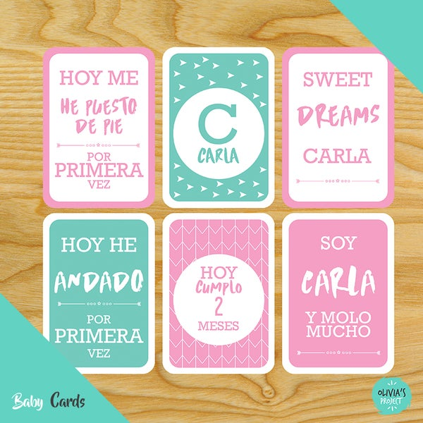 Image of Baby Cards Modelo Carla