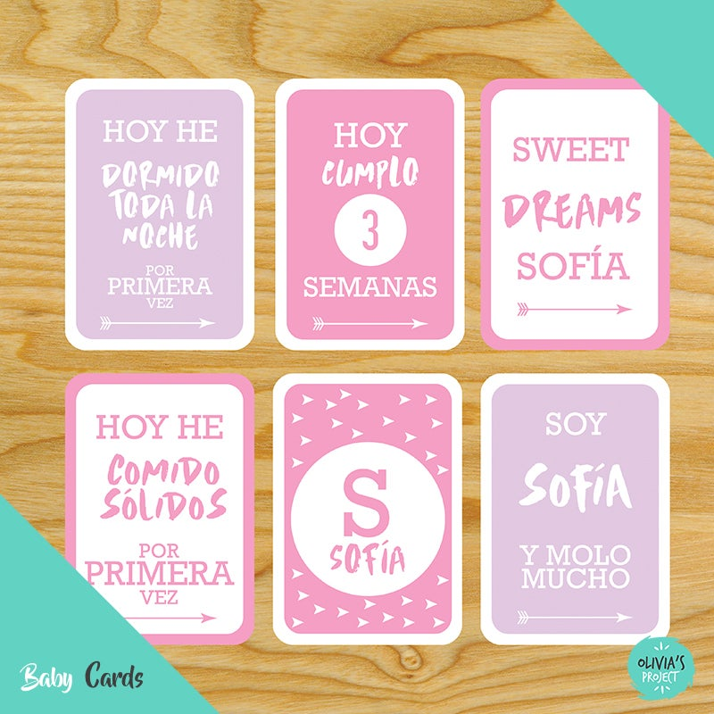 Image of Baby Cards Modelo Sofía