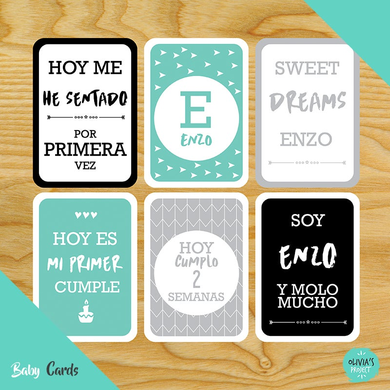 Image of Baby Cards Modelo Enzo