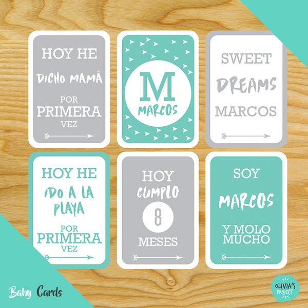 Image of Baby Cards Modelo Marcos