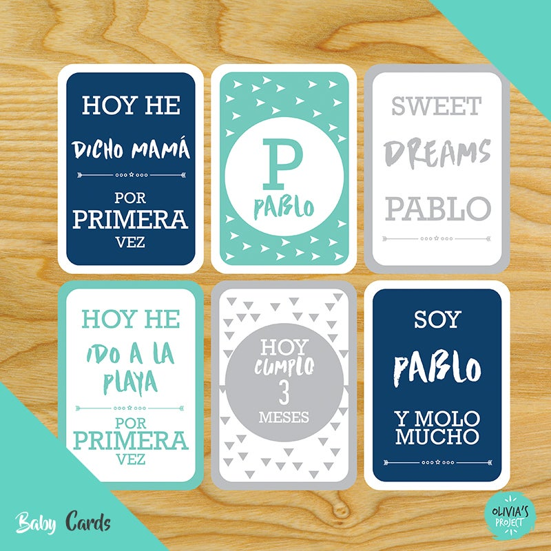 Image of Baby Cards Modelo Pablo