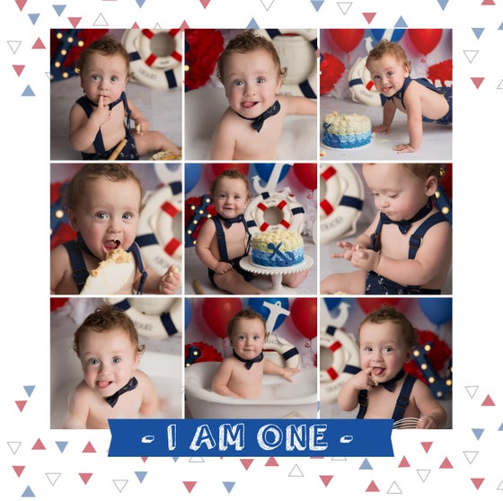 Image of CAKE SMASH / 12MTH MILESTONE SESSION {from}