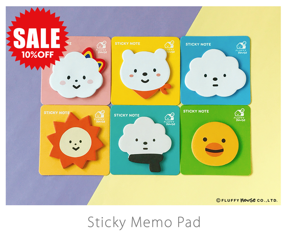 Image of Sticky Memo Pad